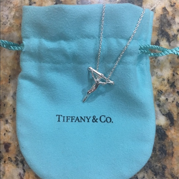 fc9e6e6d1 Tiffany and Co. Elsa Peretti Crucifix Pendant. M_58edb3bd4e8d17169d098aef