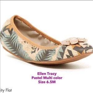 Ellen Tracy Trinity Flat Shoe  size 6.5 NEW