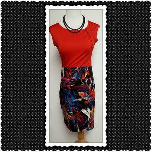 Grace Dresses & Skirts - Grace Multicolored Pencil Skirt