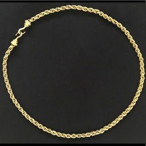 Accessories - Elegant Gold plated Belt W/Diamond studded clasp S