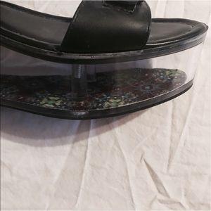 857d77f8f09 YRU Shoes - Y.R.U. Qloud clear platform sandal