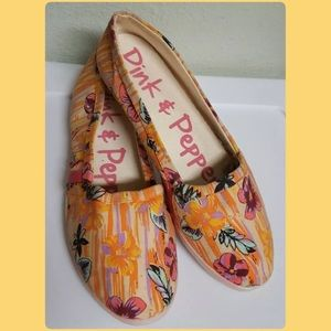 Pink & Pepper Other - Pink & Pepper Canvas Flats! NEW!