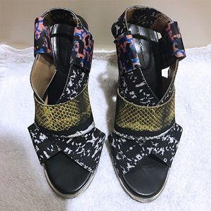 Zara Printed Heels