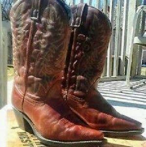 Laredo Shoes - Authentic Women's Western Boots Laredo Size 10