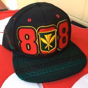 Zephyr Other - 🏝808 Hawaii Flag Polynesian Warrior Black Hat Cap