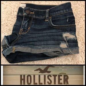 Hollister CA Shorts Denim Jeans Destroyed Short 3