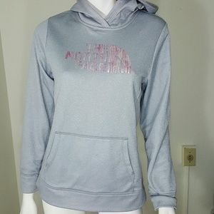 The North Face Other - The North Face Girls Grey Logo Hoodie XL