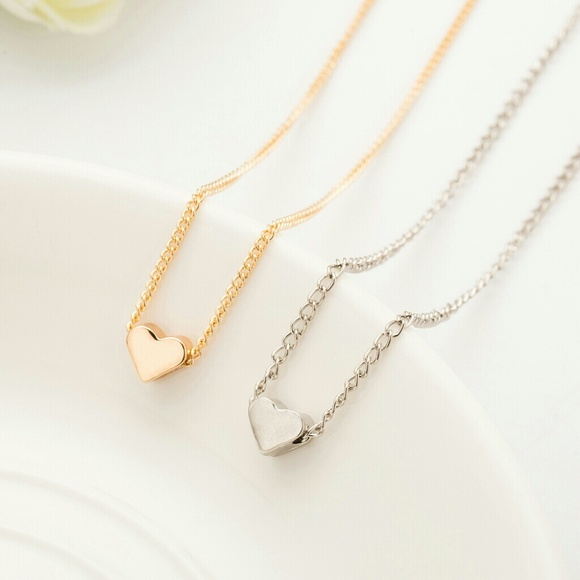 Tiny Moon/&Star Necklace GoldSilver
