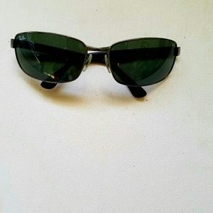 d7ee6664c1 Ray-Ban Accessories - Ray-Ban Gunmetal Green Sunglasses RB 3478 004 63mm