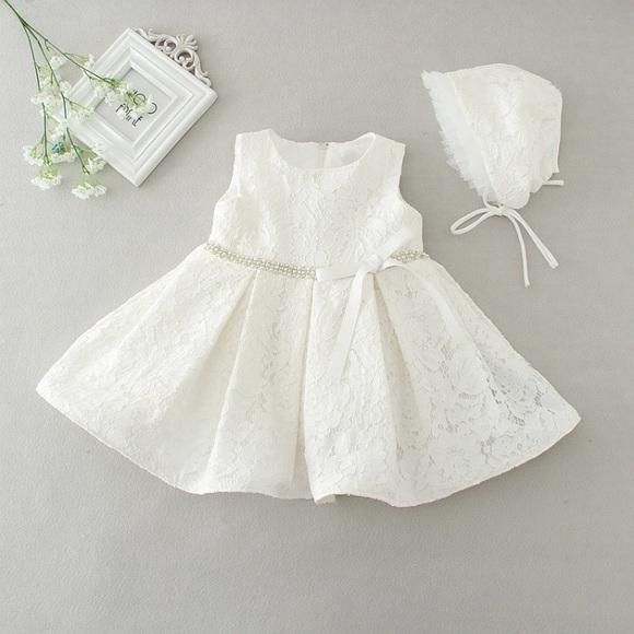 e876d666a Dresses | White Baptism Dress Baby Girl Special Dress | Poshmark