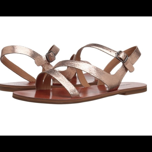 223e0ea278f9 🐪hump day sale🐪Lucky brand rose gold sandal