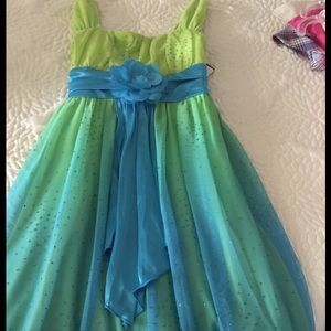 My Michelle Other - Greenish colored and Teal  My Michelle tank dress