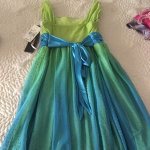 My Michelle Dresses - Greenish colored and Teal  My Michelle tank dress