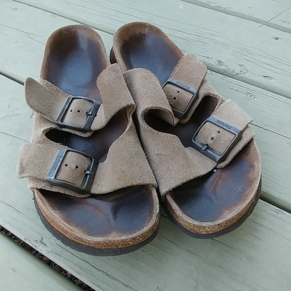 796b3b45de8 Birkenstock Shoes - Birkenstock sandals size 250 ladies 8   39