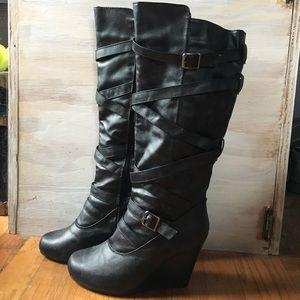 Rue 21 calf high boots