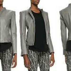 theyskens theory leather jacket