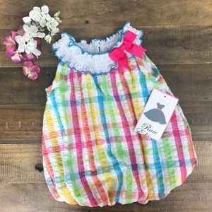 Rare Editions Other - NWT Rare Editions Romper, 6M 🎀