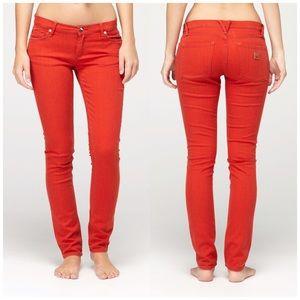 Roxy Denim - Roxy Red Skinny Jeans