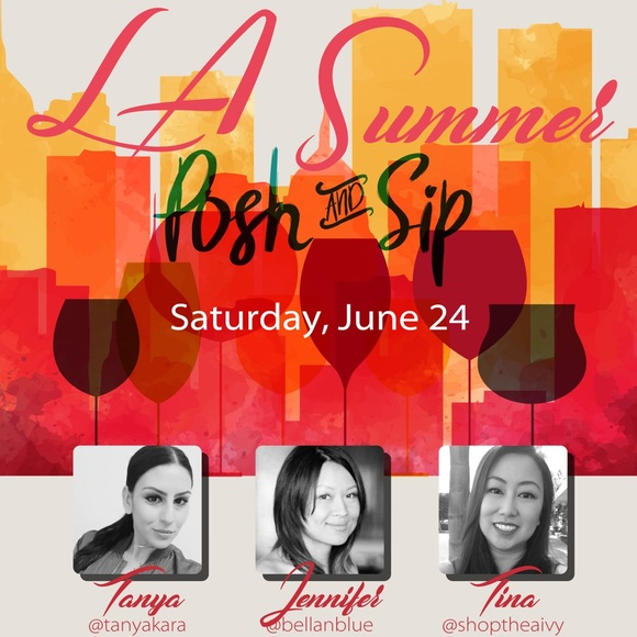 Accessories - It's here!!!!!! 6/24 Los Angeles Posh and Sip!