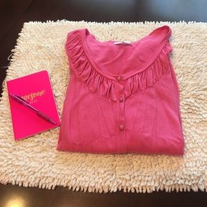 New York & Company Sweaters - New York and company pink cardigan