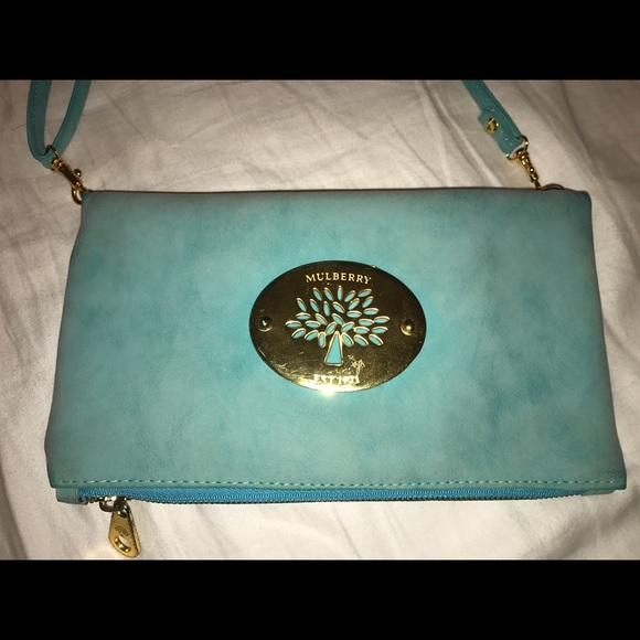 Mulberry foldover purse. M 58ee384098182908b3004ec8 ad036b751f6ca