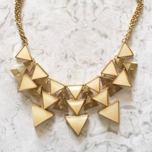 Francesca's Collections Jewelry - Blush Pink Statement Necklace