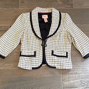 Candie's Jackets & Blazers - ❣BOGO 1/2 off❣🆕Adorable 3/4 sleeve cropped blazer