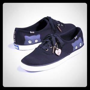 Keds Shoes - Taylor Swift black Keds size 8