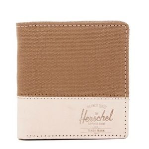 Herschel Supply Company Handbags - Herschel Supply Co. Kenny Canvas Leather Wallet