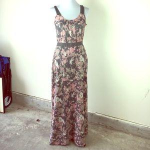 Winter Kate Dresses & Skirts - NWT - WINTER KATE Maxi splatter paint halter dress