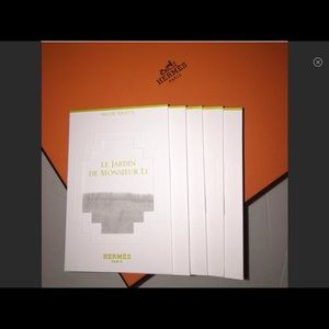 Hermes Other - Hermes' LE JARDIN de Monsieur LI 5 samples