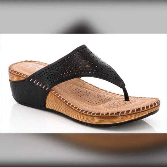 c950d50dc Lady Godiva Shoes - Lady Godiva Comfort Thong Sandal