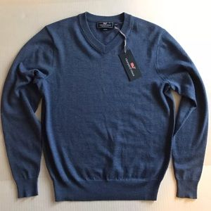 Vineyard Vines Other - Vineyard Vines Merino Wool V-neck Sweater