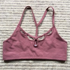 Free People Other - Free people mauve Moonshadow sports bra
