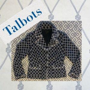 Talbots Jackets & Blazers - Talbots, 2 navy & white nautical blazer