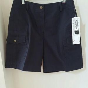 Larry Levine Pants - Larry Levine City Shorts