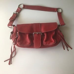 Roots Roots Canada Genuine Leather Red Purse From Yana S