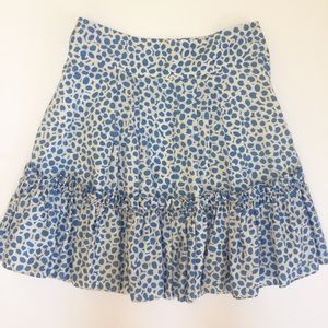 Marc Jacobs Dresses & Skirts - Marc Jacobs Blue & White Tiered Ruffle Skirt
