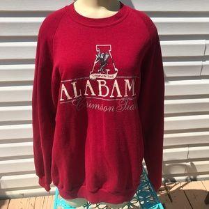 Vintage 90s Jerzees XL Alabama crimson tide top