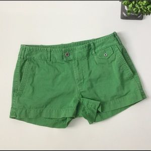"Martin + Osa Pants - MARTIN + OSA Green 2 1/2"" Chino Shorts"