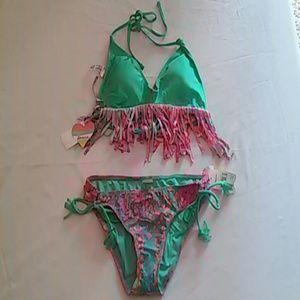 Rainbow Other - Two Piece Swimsuit Size Medium M