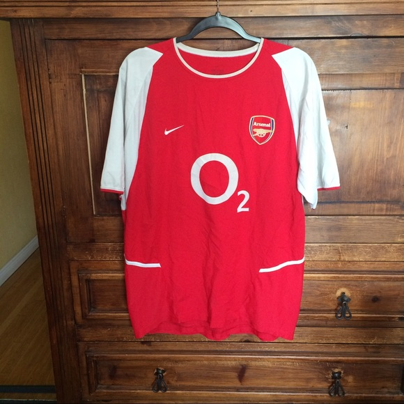 Rare 02 03 Nike arsenal soccer jersey. M 58ee5a76b4188ee56101123a 10f24df9a