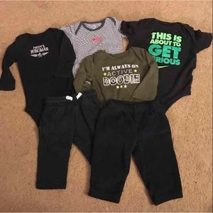 Nike Other - Carter's/Nike 6 month bundle
