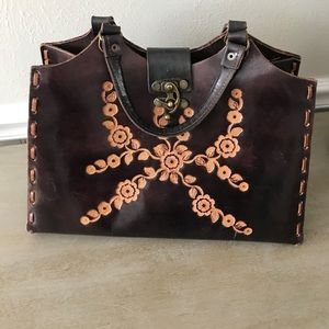 T-Bags Handbags - T-bags LA boho leather purse