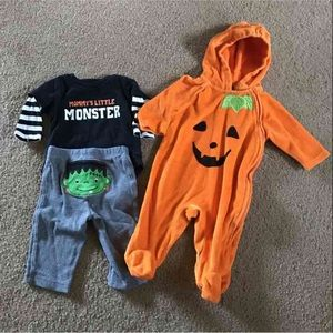 Carter's Other - Carter's/faded glory 0-3 month bundle