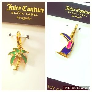 Juicy Couture Jewelry - Juicy Charm Bundle! 🌴 Palm Tree & Toucan
