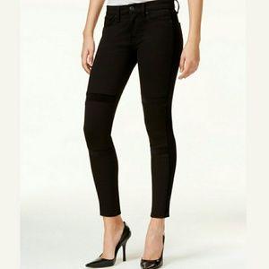 Hudson Jeans Denim - 🆕Hudson Velvet-Detail Black Super Skinny Jeans