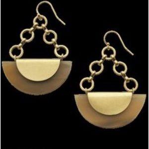 Silpada Eclipse Brass Earrings