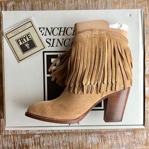 Frye Shoes - ✨Make an offer!✨Frye Ilana Fringe Bootie