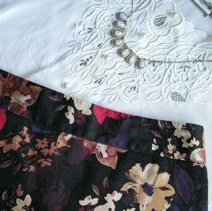 LOFT Dresses & Skirts - Loft floral pencil skirt
